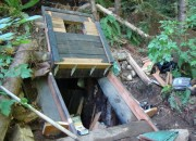 Survivalist Bunker in North Bend WA. Photo Courtesy of King County Sheriff's Office.