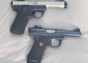 Both of the author's 22/45s shown here