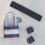 This lock, scope mount and internal lock keys come standard with the 22/45s.