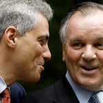 Rahm Emanuel and Richard Daley