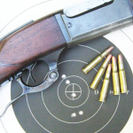The .303 Savage performed well with the Jamison brass.
