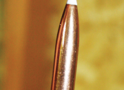 Nosler's 180-grain AccuTip is a superb bullet that has a smooth surface.