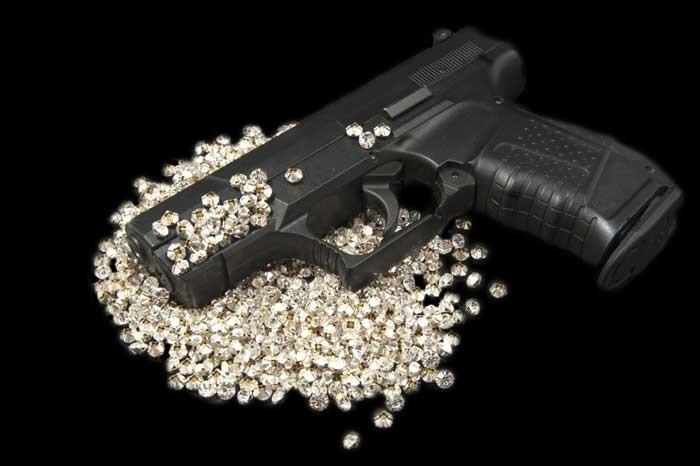 armed thieves steal gem fortune despite strict belgium gun