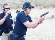 Chris Cerino, left, is a nationally known firearms instructor and competitor who's been training law enforcement officers and military for more than 12 years, and has worked in peace keeping positions for municipal, county, state and federal agencies spanning more than 20 years. He is the director of training for Chris Cerino Training Group LLC. Contact him by phone: 330-608-6415, or email: chris@cerinotraininggroup.com.
