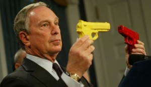 New York City Mayor Michael Bloomberg pledged to financially support gun control efforts in Washington State.