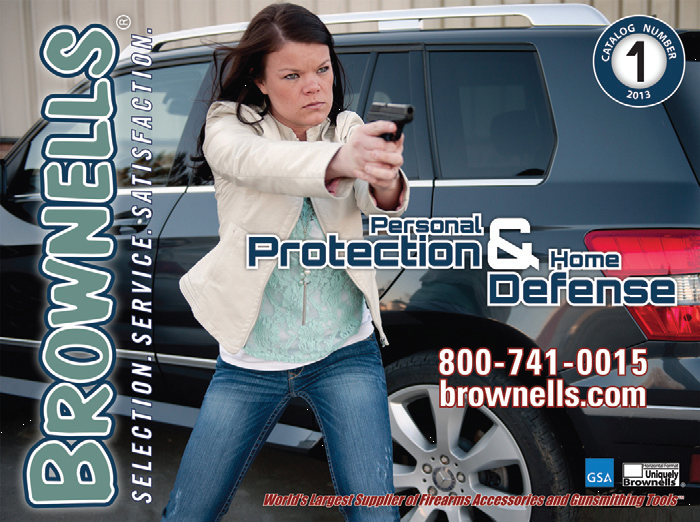Brownell's Personal Protection and Home Defense Catalog