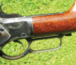 The fit of the buttstock at the wrist is superb, very nicely done