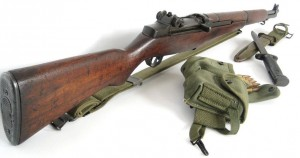 M1 Garand with accessories