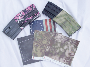 Rapid Wraps from US Night Vision allow you to customize your AR magazines in a variety of patterns and colors, including those from Kryptek.