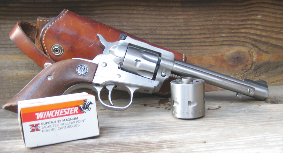 reviewing the 22 wmr cartridge in kit guns or for everyday carry