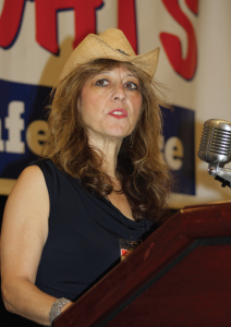 "Beverly Zaslow, the executive producer for PolitiChicks TV, who also produced ""Runaway Slaves,"" a film about black conservatives in the US, stressed that gun rights activists should use the new media avenue to counter the established media."