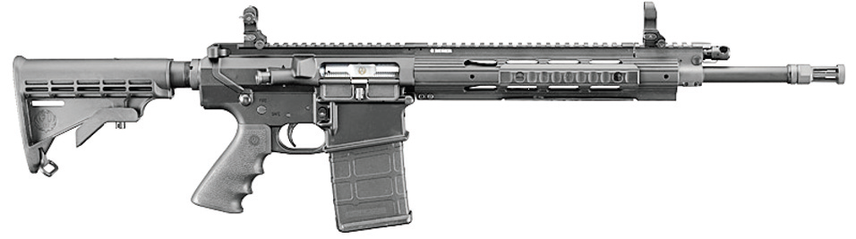 Ruger's new .308-caliber SR-762 comes with three 20-round mags