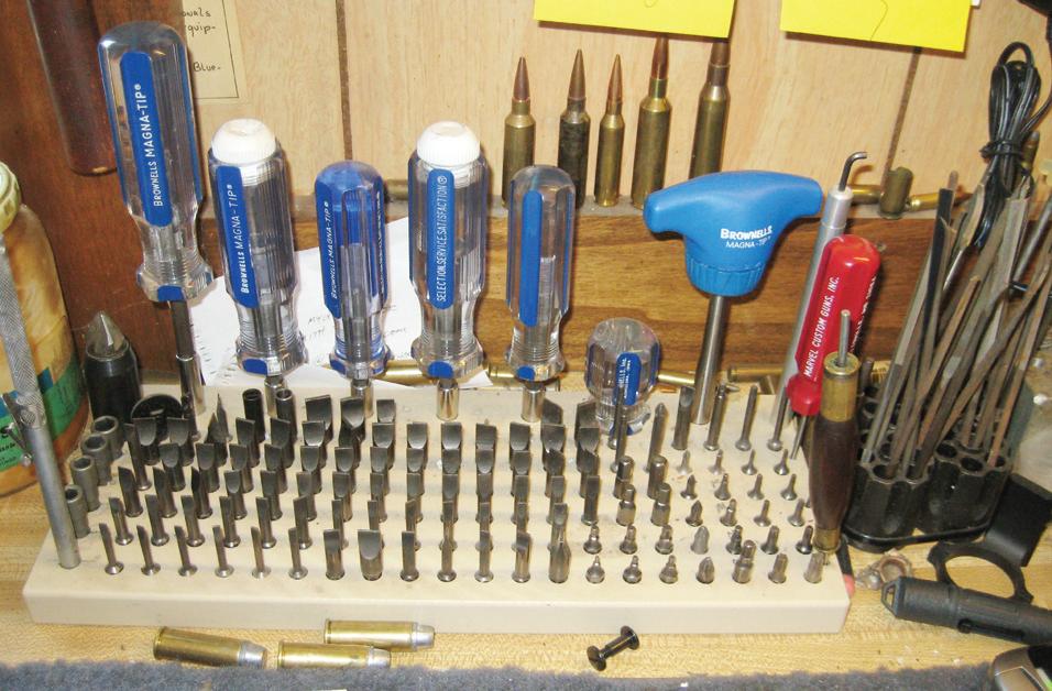 Closet gunsmithing tools for tinker handgunners ...