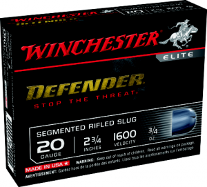 Winchester adds 20-ga. Segmenting Slug