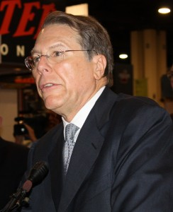 NRA Executive Vice President Wayne LaPierre is on he warpath against media elites.