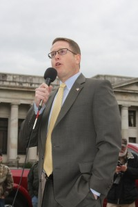 Washington State Rep. Matt Shea is sponsoring legislation to repeal I-594.