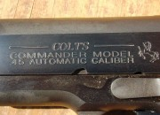 The Colt is proudly marked Commander.