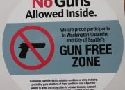 Gun-free zone signs do not prevent criminal attacks.