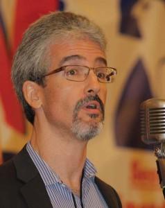 Dave Kopp, president of the Arizona Citizens Defense League, speaking at GRPC in Phoenix.