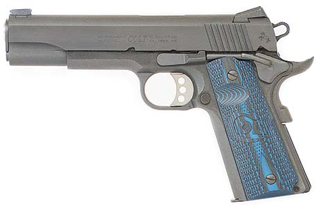 New Colt Competition™ Pistol is available chambered for 9mm or .45 ACP.