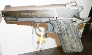 Colt Concealed Carry Officer's Model .45 caliber.