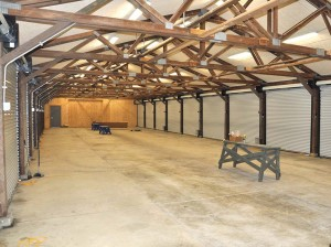 Improvements include updating a covered firing line for better safety and ventilation.