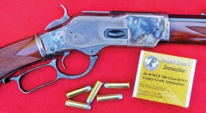 Jamison offers loaded ammunition for the .44/40 in addition to other calibers.