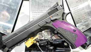 CZ's Shadow Custom, a solid 9mm pistol ready for competition right out of the box.