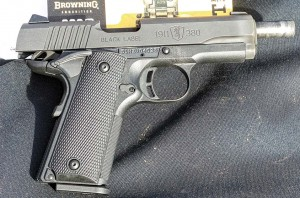 Browning's Black Label 1911-380, a practically perfect pocket pistol for 1911 devotees.
