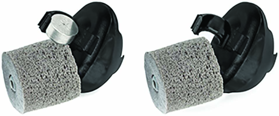 The lightweight batteries for the electronic GunSport PRO hearing protection devices.