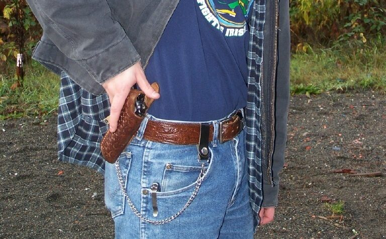 Concealed carry is on the rise nationwide. Washington is a belwether state for this phenomenon. (Dave Workman photo)