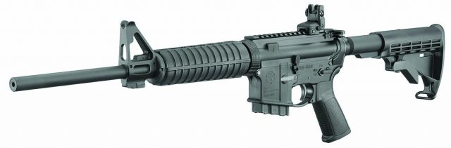 The Ruger AR 556 is an affordable but capable rifle featuring excellent fit and finish.