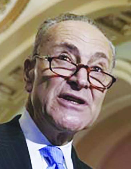 Sen. Chuck Schumer (D-NY) thinks he'll be Senate Majority Leader in January 2017.