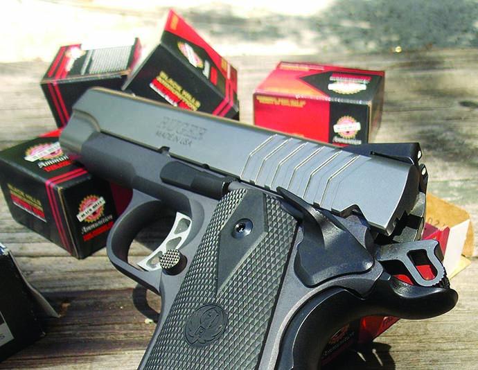 Ruger's SR1911 9mm pistol: first class, all around handgun