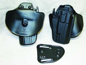Safariland's 086 GLS Pro Fit holster is the most versatile and best fitting level two holster on the market.