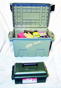MTM Case Gard's ACR7 and AC30C: tough cases to secure whatever gear you need to carry.