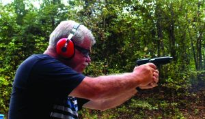 The .38 Super is comfortable to fire and controllable in the 1911.