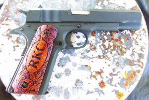 The Rock Island Armory .38 Super gave the steel plates a good workout!