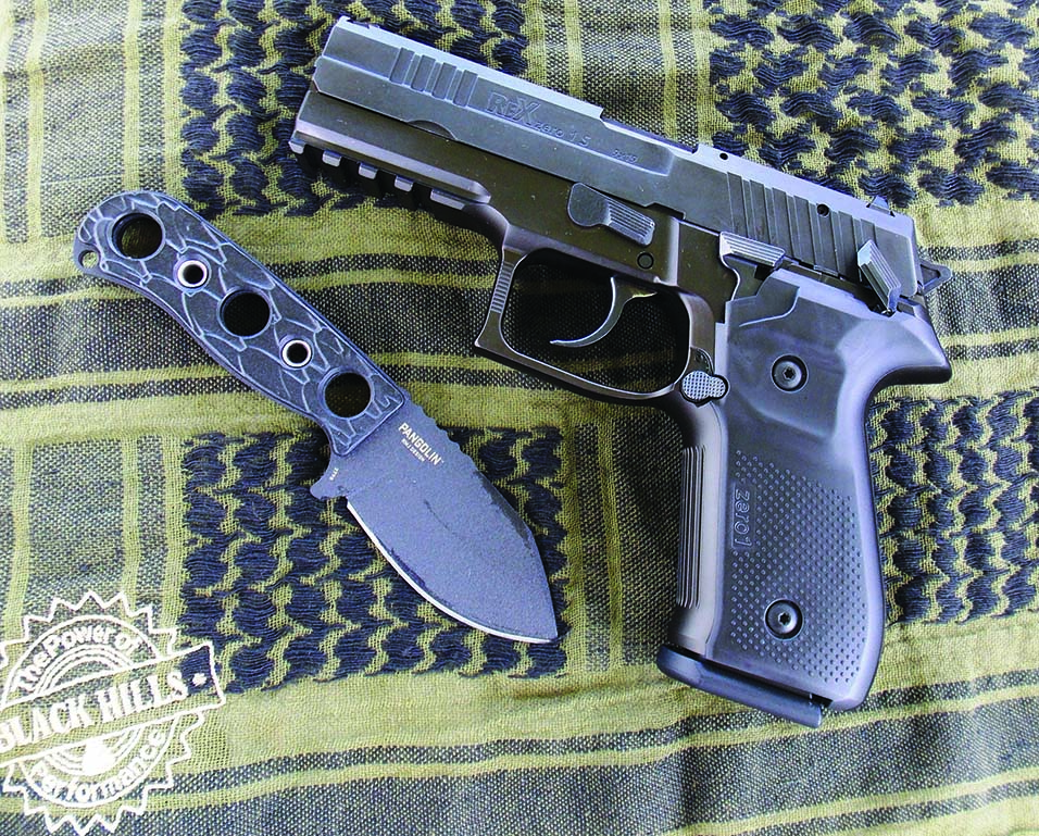 The AREX Rex Zero 1 is a formidable handgun on all counts.