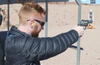TGM's Scott Warren sent a few rounds downrange at the annual SHOT Show Media Day at the Range in January.