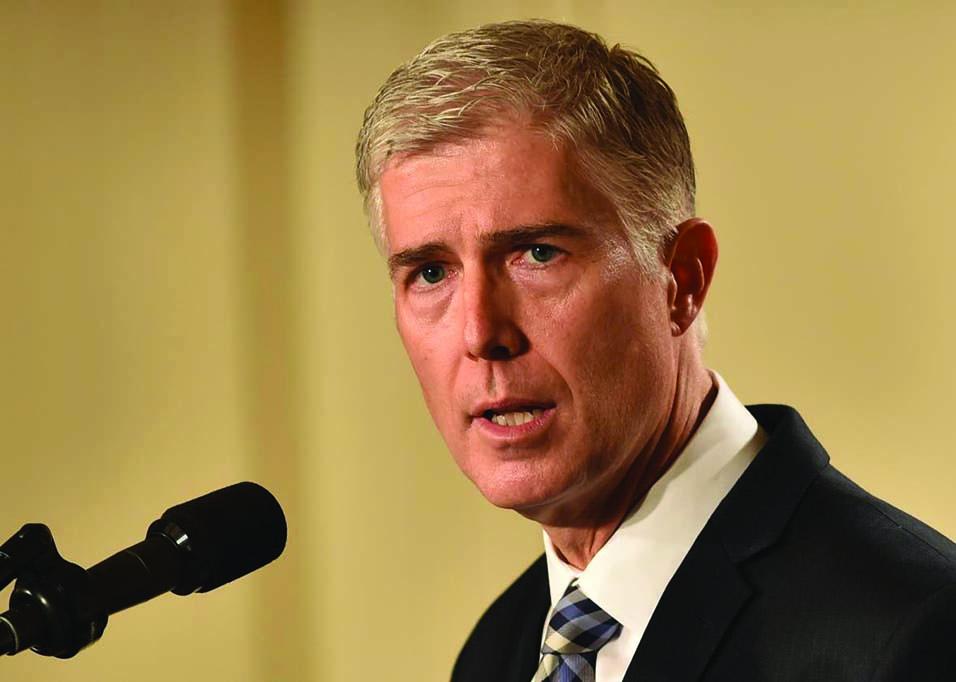 New Supreme Court Associate Justice Neil M. Gorsuch
