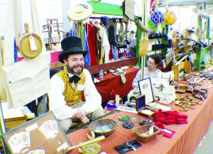 Nathaniel Logsdon, owner of Taylor Rose Historical Outfitter, will be at Kalamazoo.