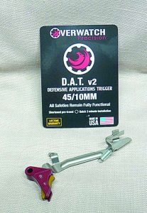 Overwatch Precision DAT Trigger assembly, ready to install in a large frame Glock.