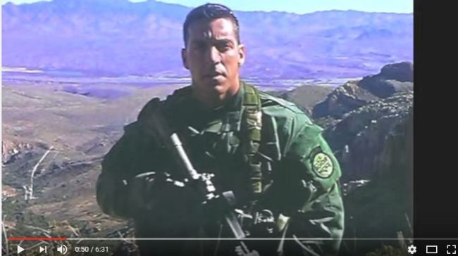 Brian Terry (Source: You Tube screen capture; Tales of Fast and Furious)