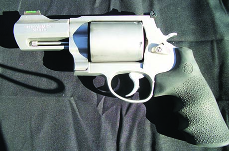 The Smith & Wesson .500 revolver.