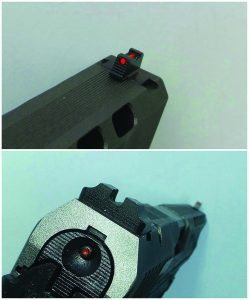 Warren Tactical Sights are used by many of the world's finest shooters and they are standard on the Canik TP9SFx.
