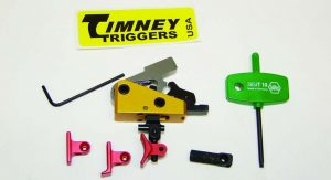 Timney's Calvin Elite Trigger is one of the best AR triggers I have used. It will improve your AR's accuracy.