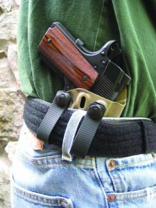 The SPEKTRE IWB holster and the Everyday Tactical Belt make a good combo for everyday concealed carry of the Wilson Combat ULC Commander Compact in 9mm.