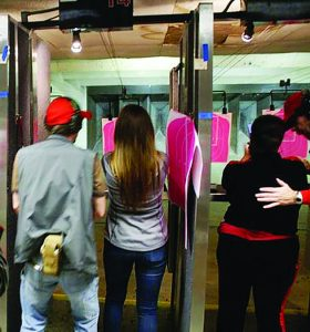 Every range participant in the Detroit-area introductory shooting program was mentored by a volunteer professional firearms trainer.