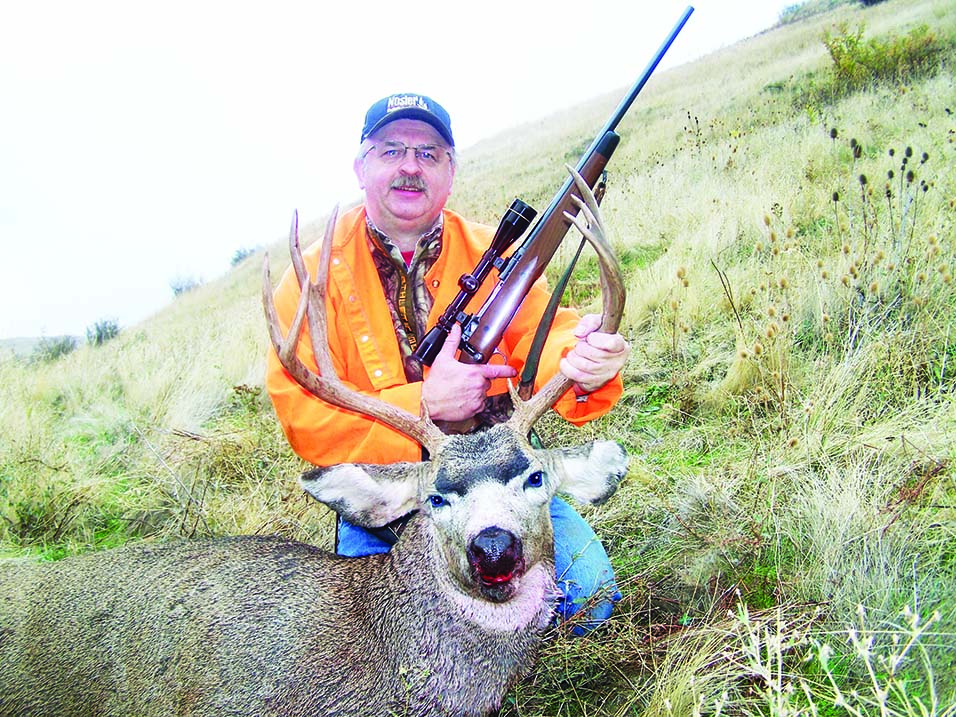 Senior Editor Dave Workman anchored this Snake River buck a few seasons ago. His rifle is a Savage American Classic chambered in .308 Winchester, with a 3-9 Leupold scope.
